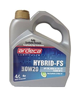 Моторное масло Ardeca HYBRID-FS 0W-20 4л
