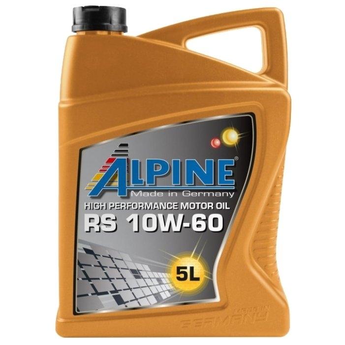 Моторное масло Alpine RS 10W-60 5л