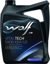 Моторное масло Wolf VitalTech 5W-30 ASIA/US 5л (Заменен на Wolf EcoTech 5W30 SP/RC G6)
