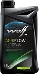Моторное масло Wolf AgriFlow 4T 10W-30 1л
