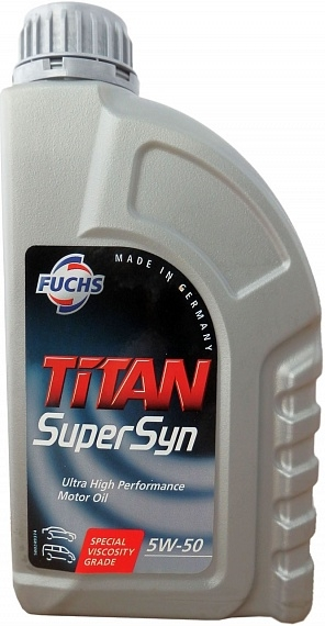 Моторное масло Fuchs Titan Supersyn 5W-50 1л