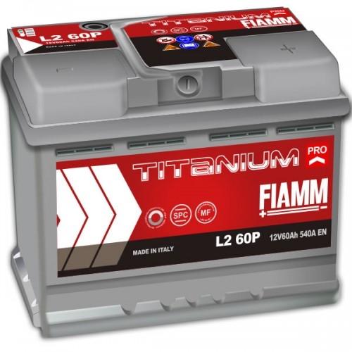 Аккумулятор FIAMM Titanium Pro (60 А·ч) 540А