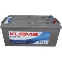 Аккумулятор KLEMA norm 6СТ-225 АЗ (1500A)