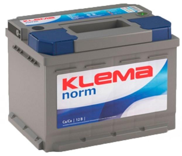 Аккумулятор KLEMA norm 6СТ-45 JIS (360A)