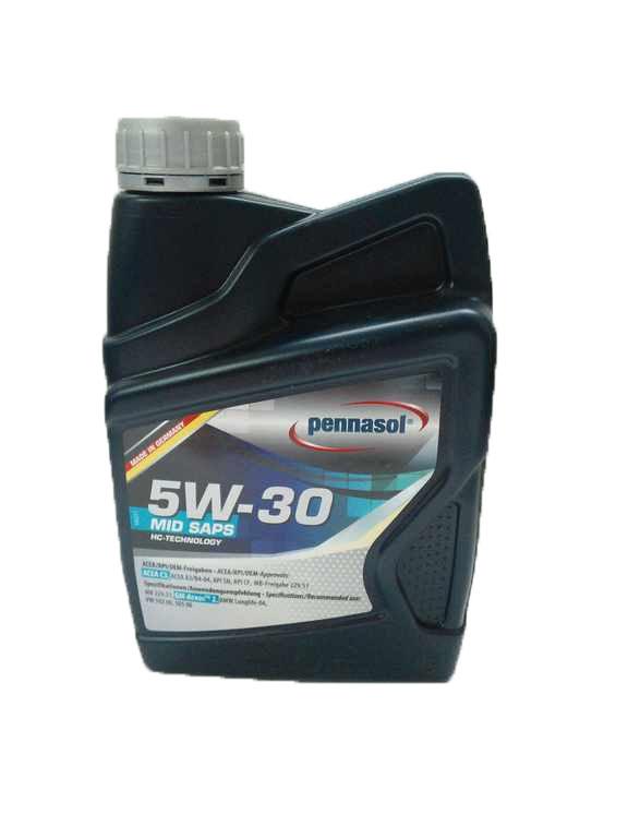 Моторное масло Pennasol Mid Saps 5W-30 1л