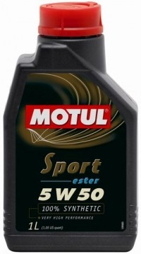 Моторное масло Motul Sport Ester 5W-50 1л