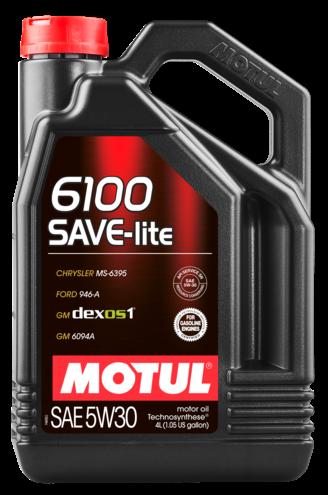 Моторное масло Motul 6100 Save-Lite 5W-30 4л