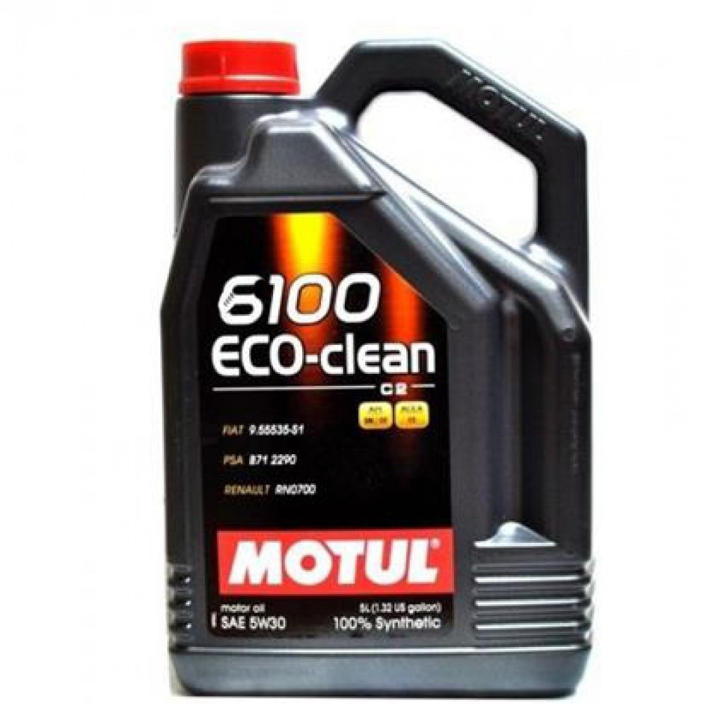 Моторное масло Motul 6100 save-clean 5W-30 5л