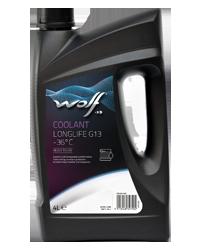Антифриз Wolf G13 Coolant Longlife -36°C 4л