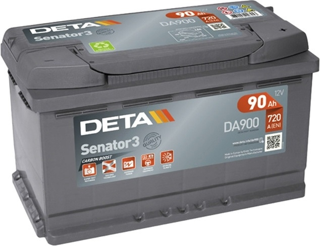 Аккумулятор Deta Senator 3 Carbon Boost DA900 (90Ah)