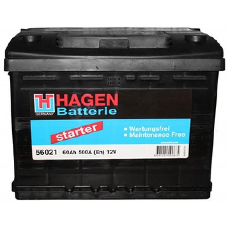 Аккумулятор Hagen 56021 (60Ah)