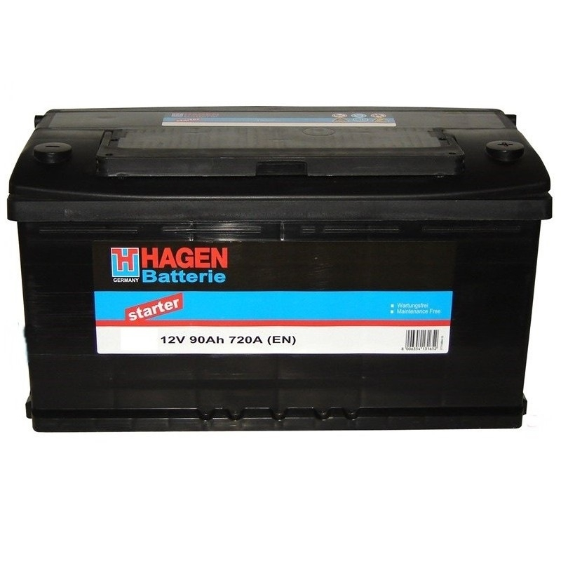 Аккумулятор Hagen 59013 (90 А/ч)