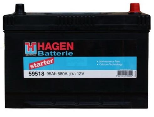 Аккумулятор Hagen 59518 (95А/ч)