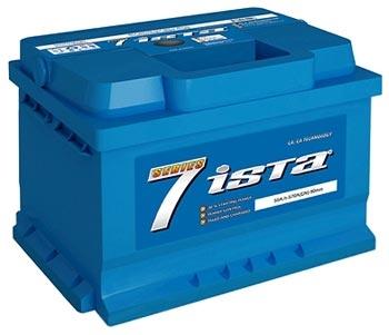 Аккумулятор ISTA 7 Series 6СТ-55 А2HЕ (55Ah)