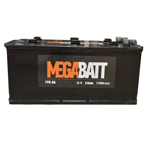 Аккумулятор Mega Batt 6СТ-190А (190 А/ч)