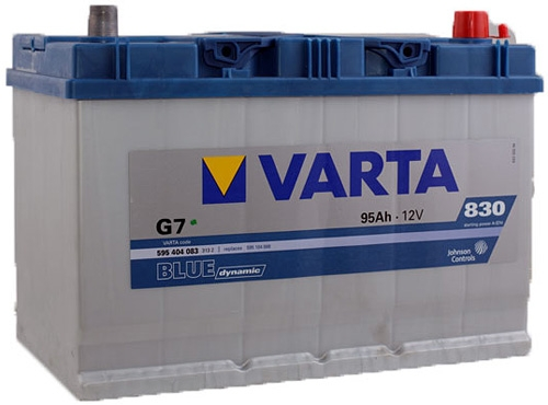 Аккумулятор Varta Blue Dynamic G7 (95 А/ч)