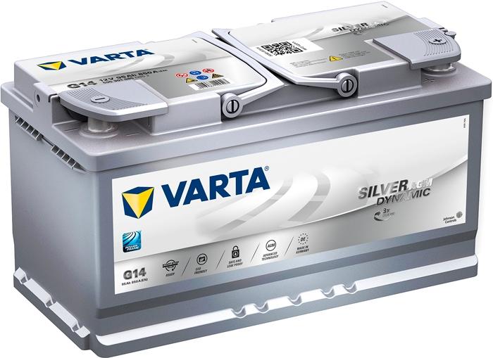 Аккумулятор Varta Silver Dynamic AGM G14 (95 А·ч)