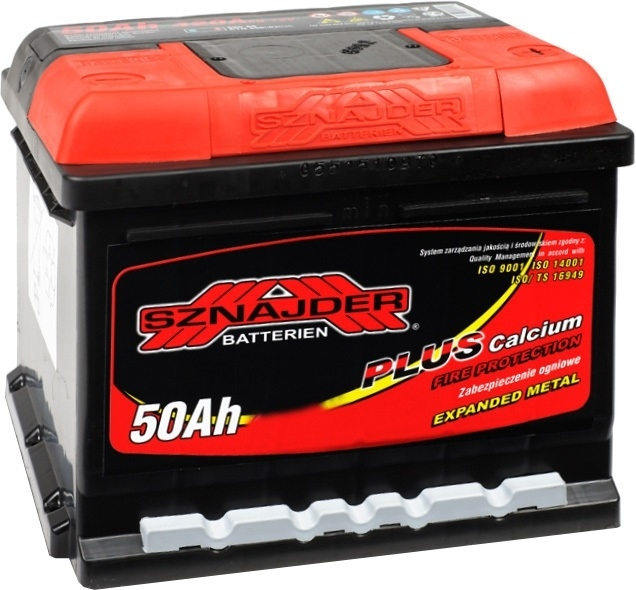 Аккумулятор Sznajder Plus 50 R (50 А·ч)