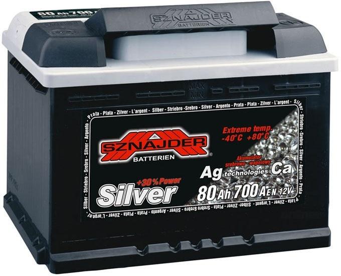 Аккумулятор Sznajder Silver 55 R (55 А/ч)