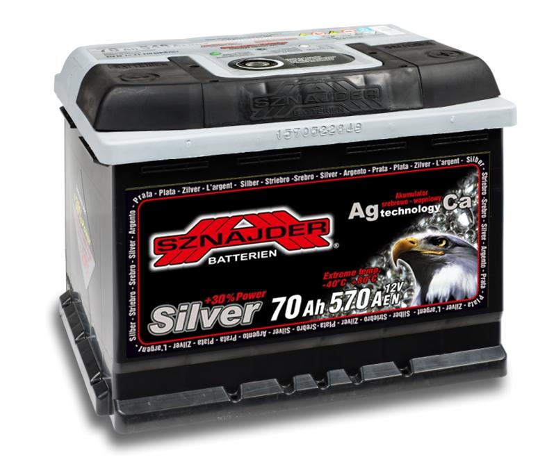 Аккумулятор Sznajder Silver 70 R (70 А/ч)