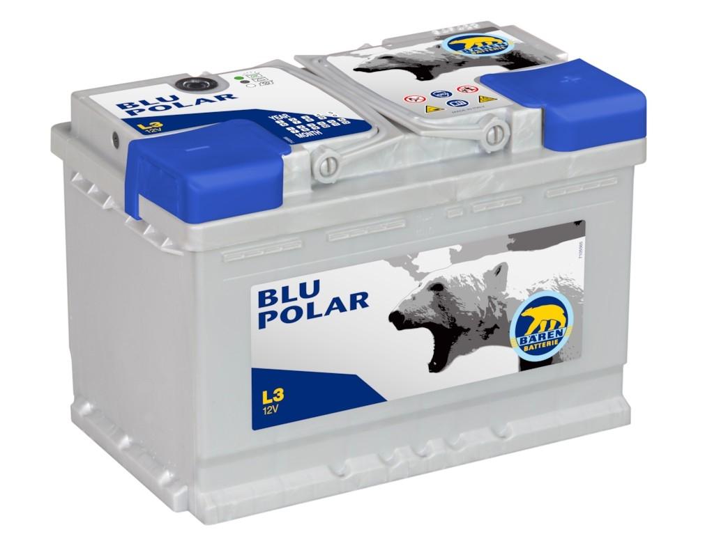 Аккумулятор Baren Polar Blu (90 А/ч)