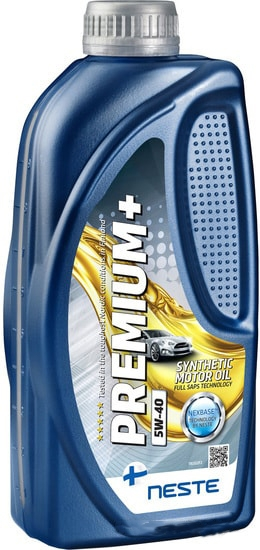 Моторное масло Neste Premium+ 5W-40 1л