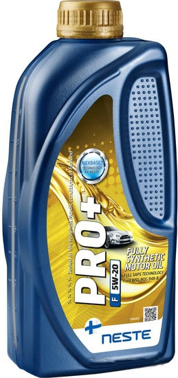 Моторное масло Neste Pro+ F 5W-20 1л