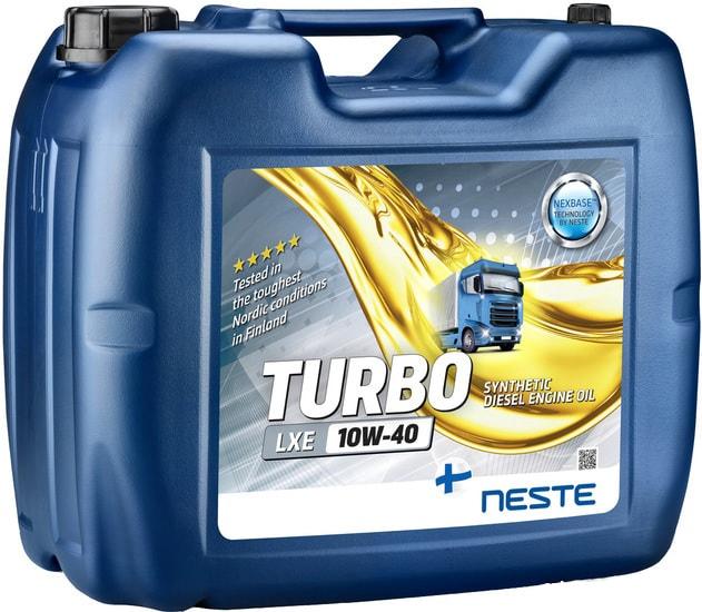 Моторное масло Neste Turbo LXE 10W-40 20л