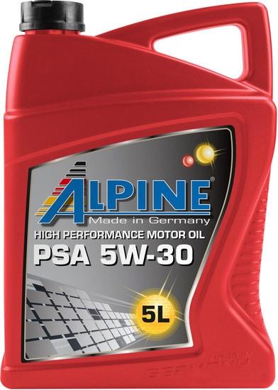 Моторное масло Alpine PSA 5W-30 5л