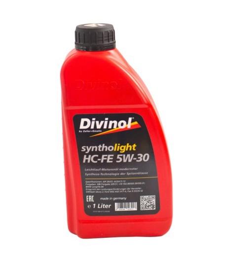 Моторное масло Divinol Syntholight HC-FE 5W-30 1л