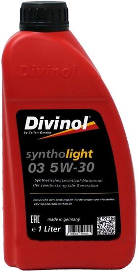 Моторное масло Divinol Syntholight 03 5W-30 1л