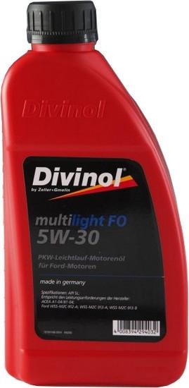Моторное масло Divinol Multilight FO 5W-30 1л [49200-1]