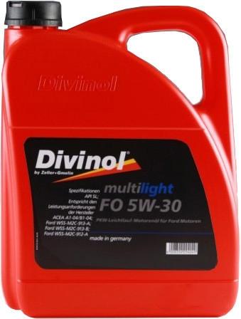 Моторное масло Divinol Multilight FO 5W-30 5л [49200-5]