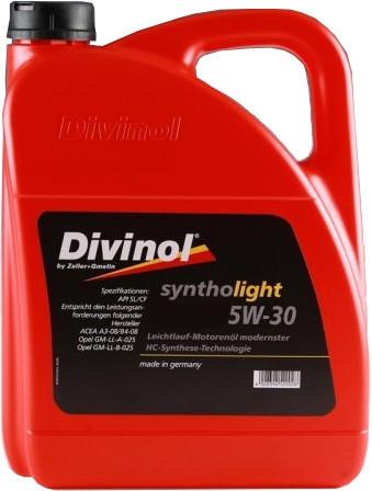 Моторное масло Divinol Syntholight ASN 5W-30 5л