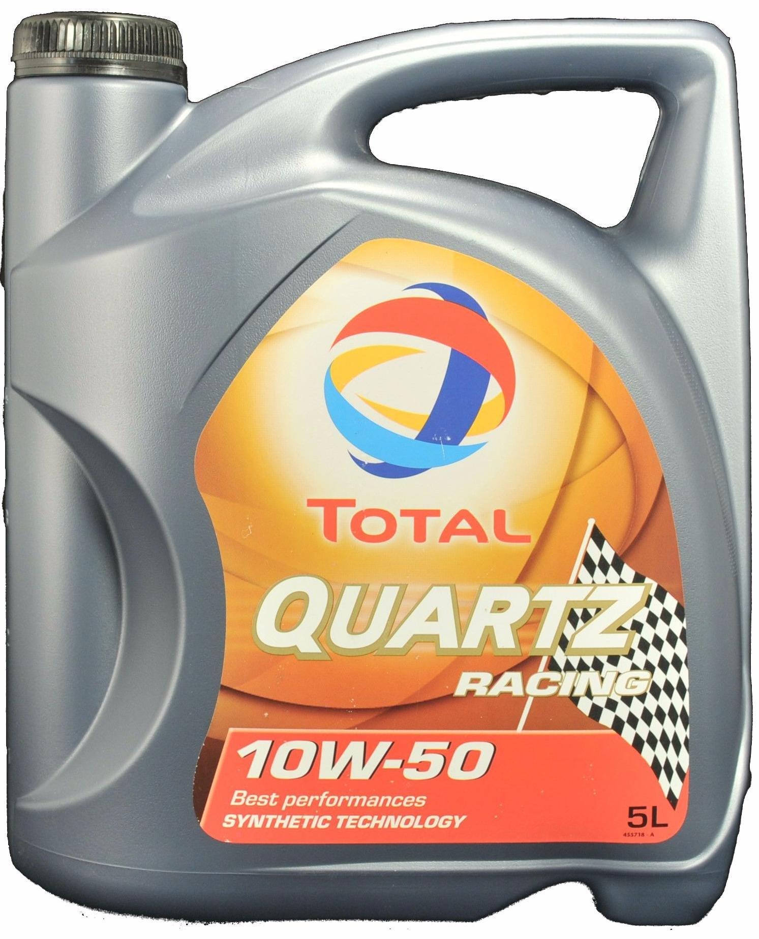 Моторное масло Total Quartz Racing 10W-50 5л