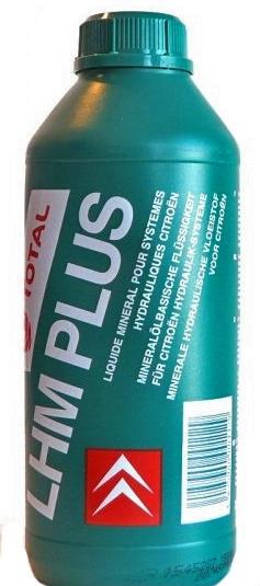 Трансмиссионное масло Total FLUID LHM PLUS 1л