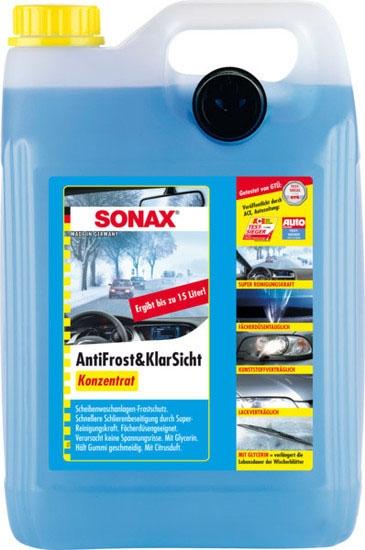 Омыватель стекла зимний Sonax 332505 5л конц.