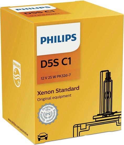 Лампа ксеноновая Philips D5S Xenon Standard 1шт