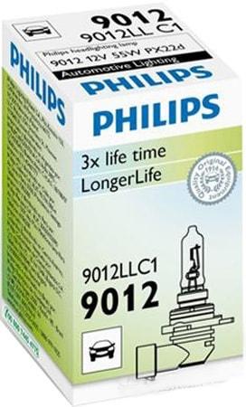 Лампа галогенная Philips HIR2 LongLife 1шт