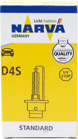 Лампа ксеноновая Narva  D4S 1шт