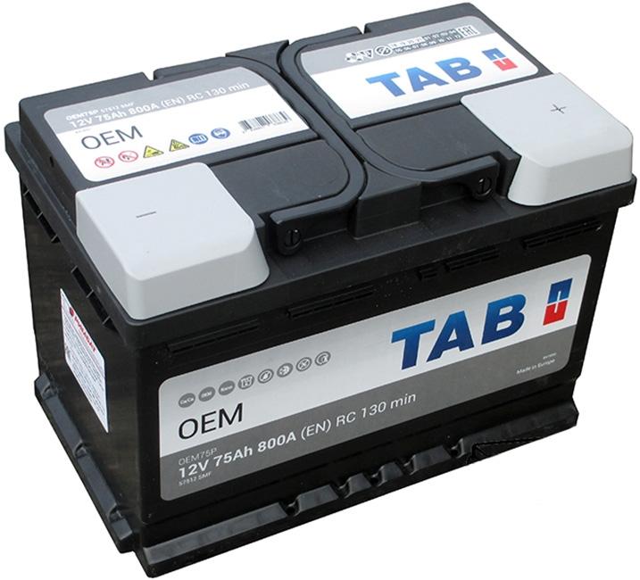 Аккумулятор  TAB OEM 75 R (75 А·ч)