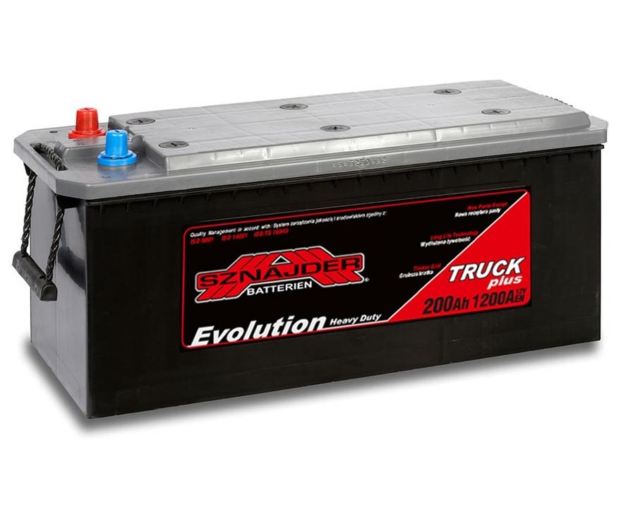 Аккумулятор Sznajder Truck Freeway HD Evolution (200 A/h)