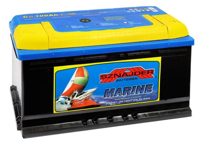 Аккумулятор Sznajder Marine 100 R (тяговая)