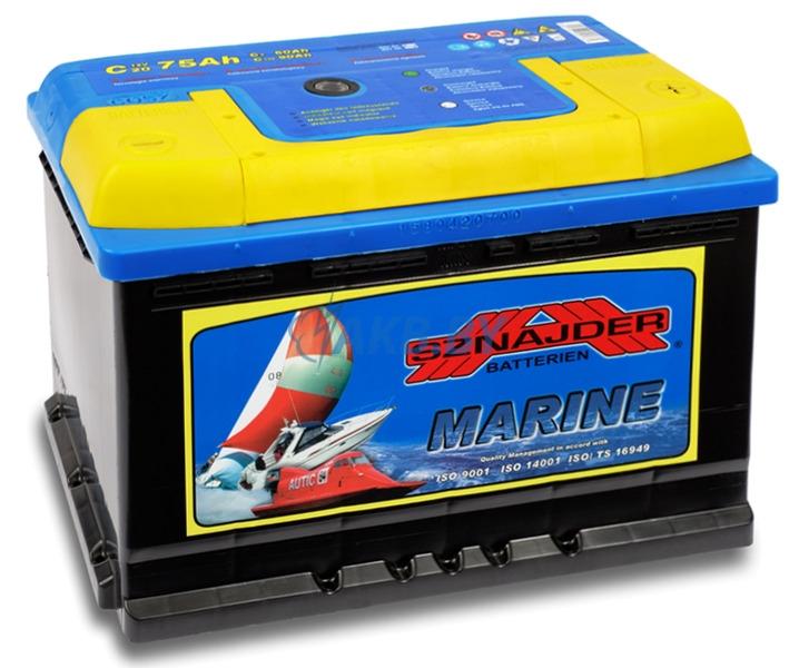 Аккумулятор Sznajder Marine R (75 A/h) (тяговая)