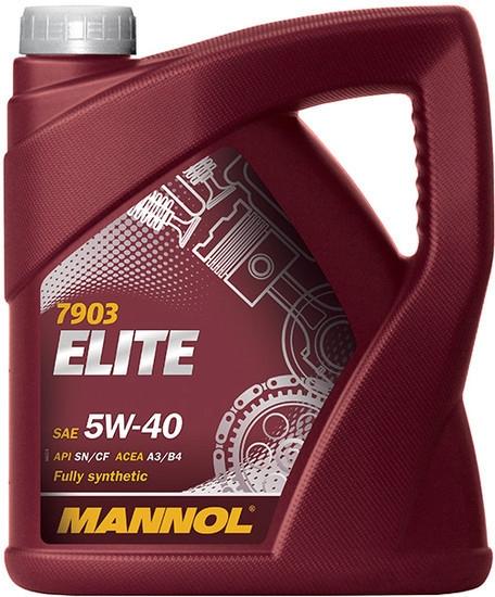 Моторное масло Mannol Elite 5W-40 4л