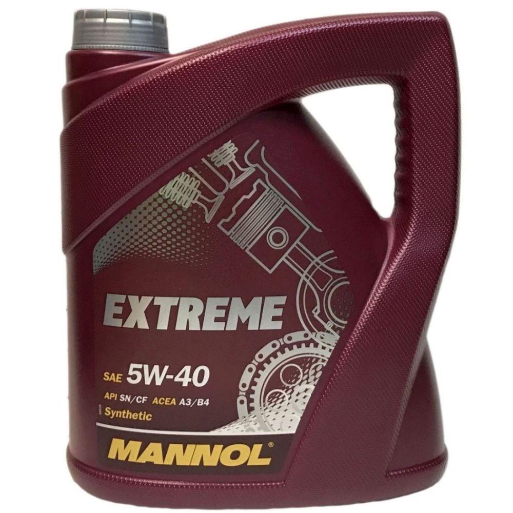 Моторное масло Mannol EXTREME 5W-40 4л