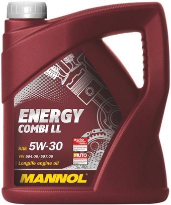 Моторное масло Mannol ENERGY COMBI LL 5W-30 5л