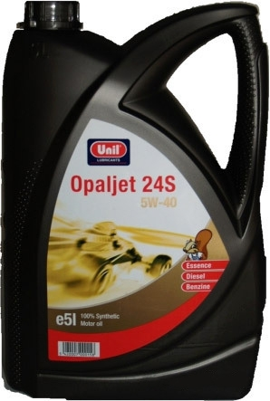Моторное масло Unil Opaljet 24 S 5W-40 5л