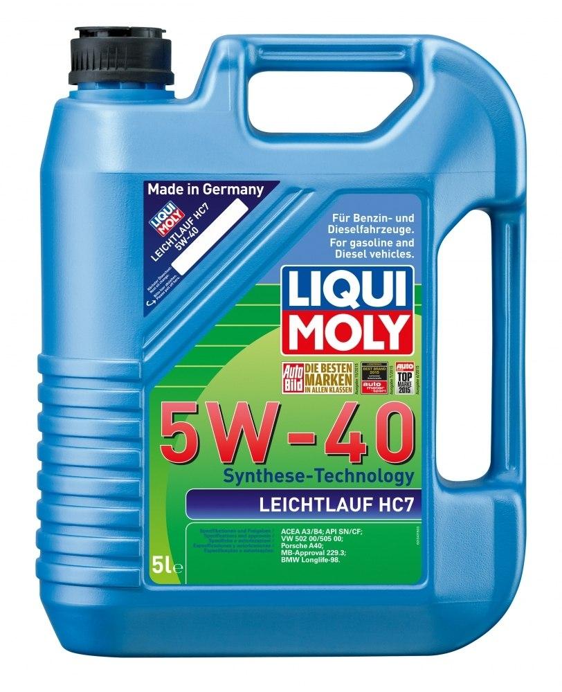 Моторное масло Liqui Moly Leichtlauf HC7 5W-40 5л