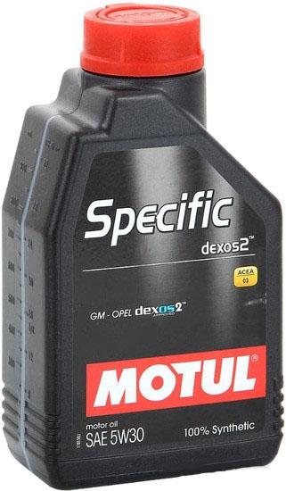 Моторное масло Motul Specific DEXOS2 5W-30 2л